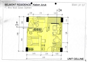 Bellmont Apartment Kebon Jeruk 2