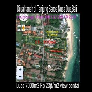 Tanah Tanjung Benoa Bali