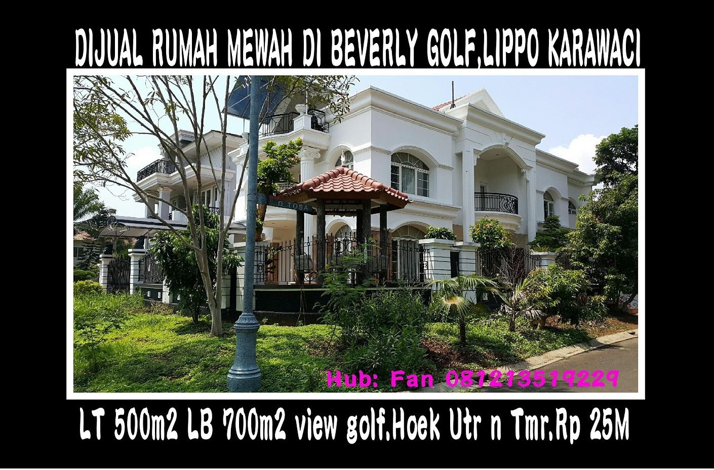 Rumah Beverly Golf Lippo Karawaci