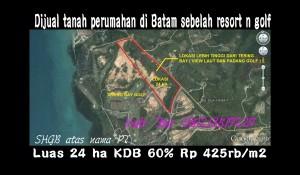 Tanah 24 ha Batam