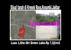 Tanah di Kresek Raya Kosambi Jakbar 1