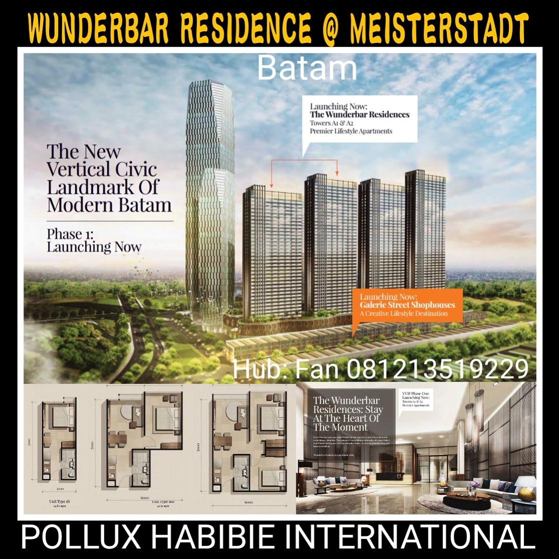Apartment & Ruko Meisterstadt Batam 1