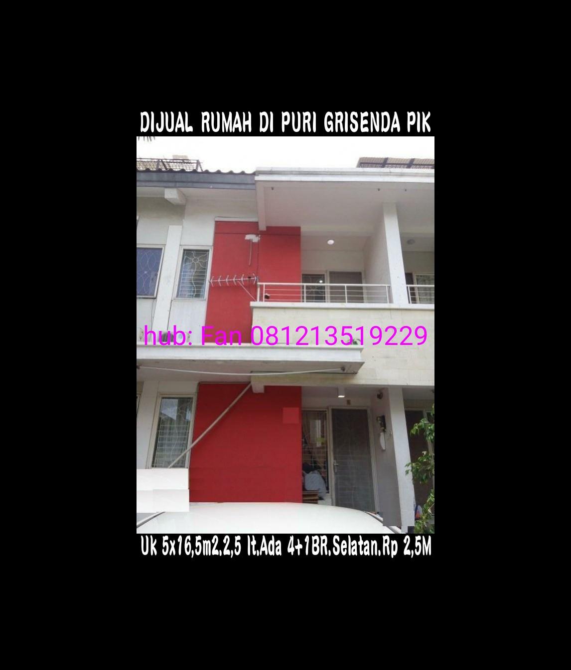 Rumah di Grisenda PIK
