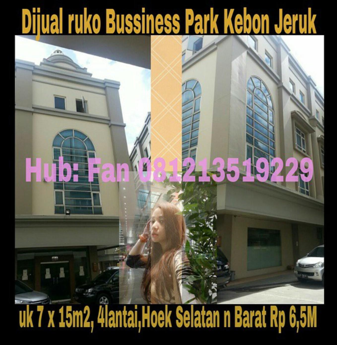 Ruko Bussines Park Kebon Jeruk