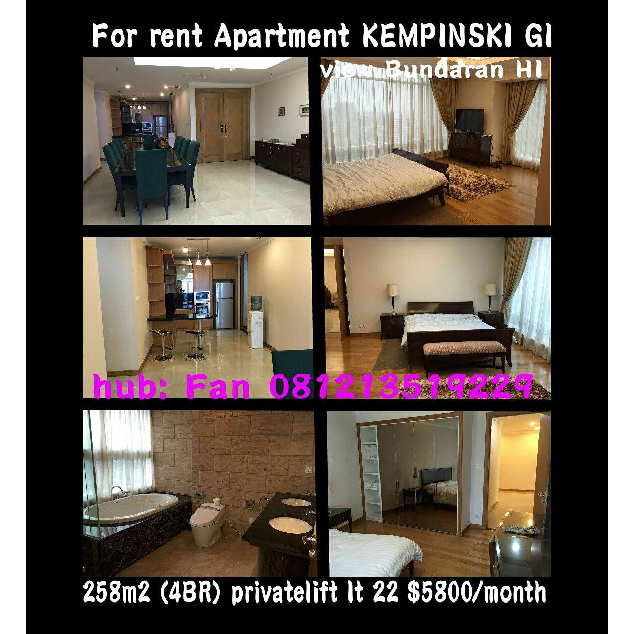 Sewa Apartment Kempinski