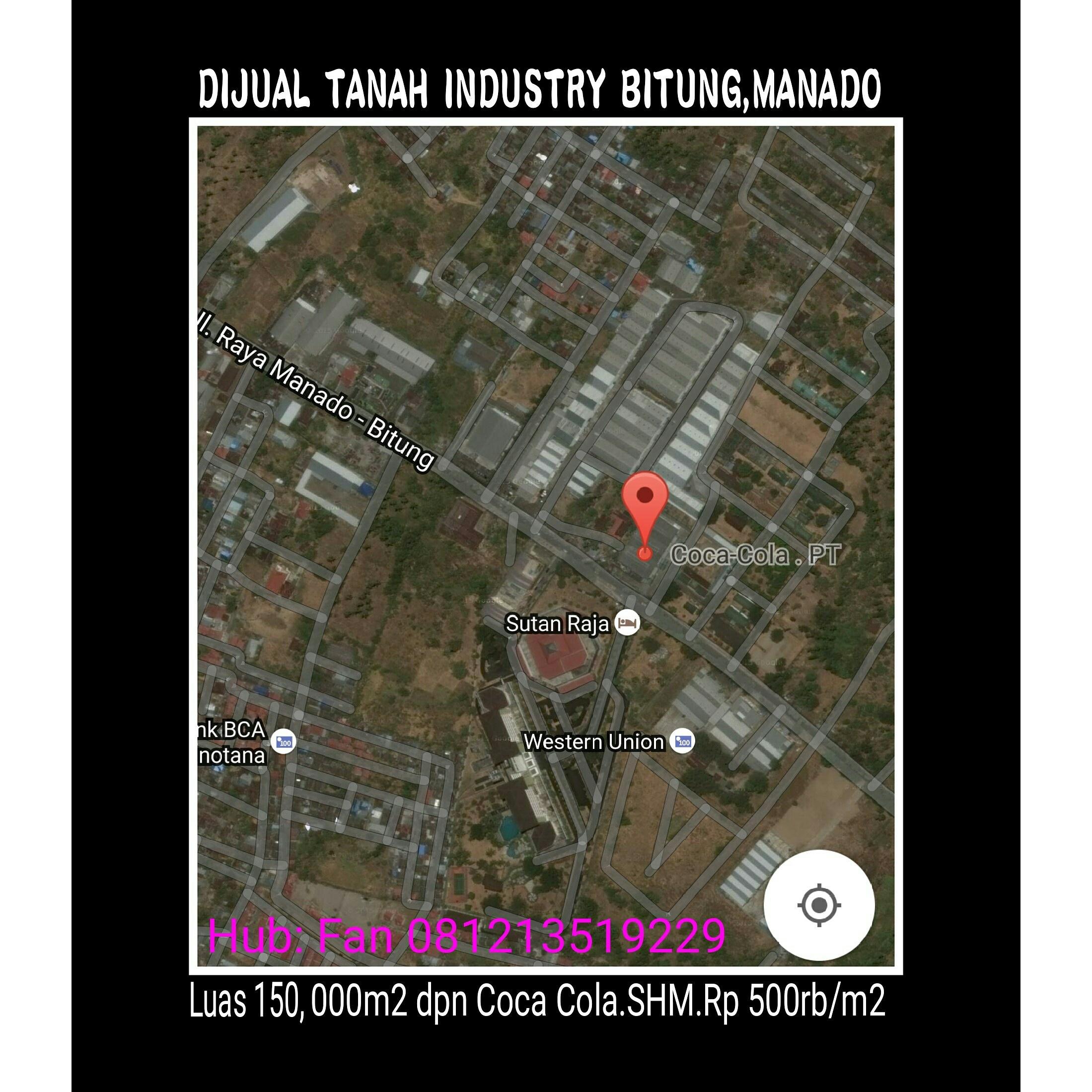 Tanah Industry Bitung Manado