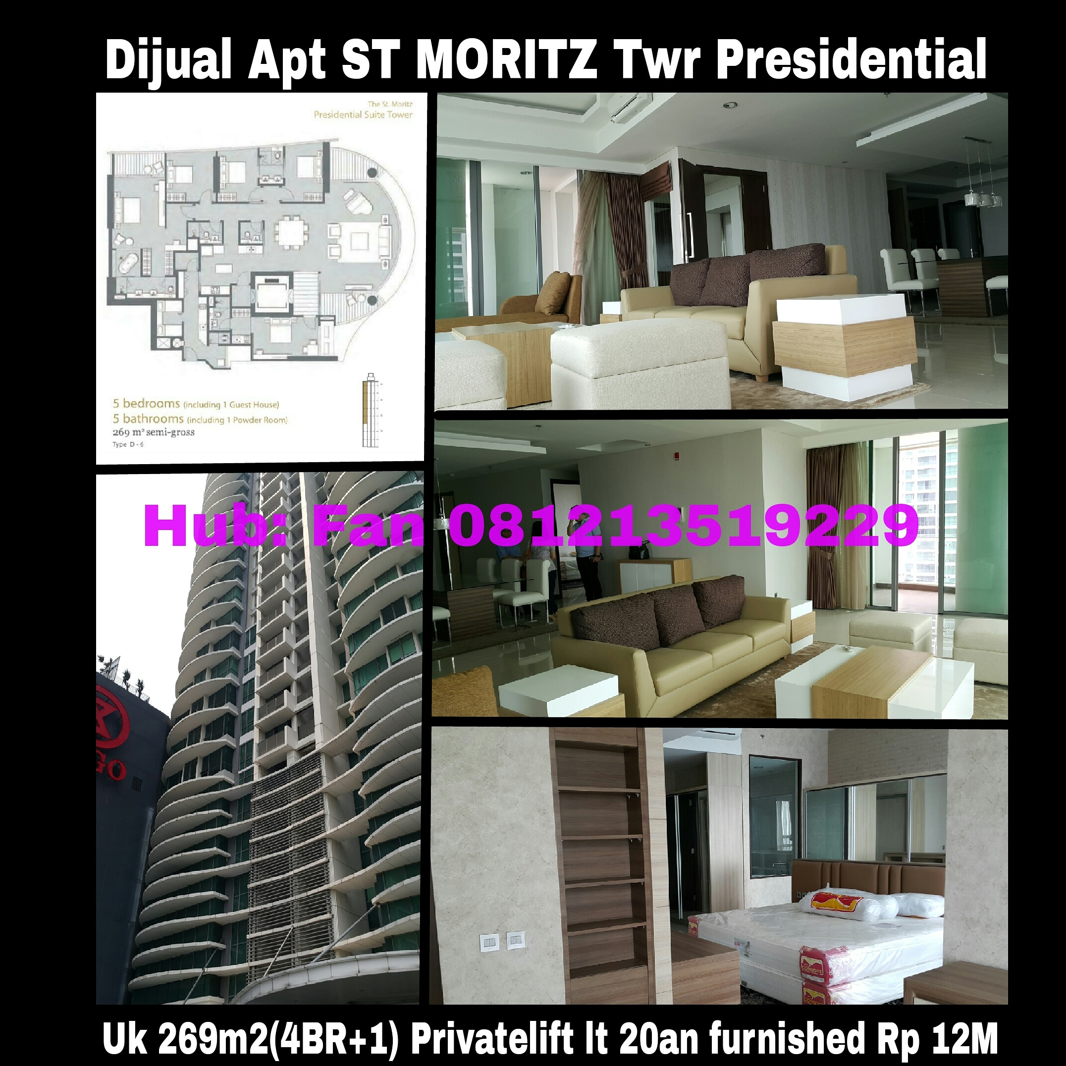 Apartment St Moritz 269m2 Fully Furnished