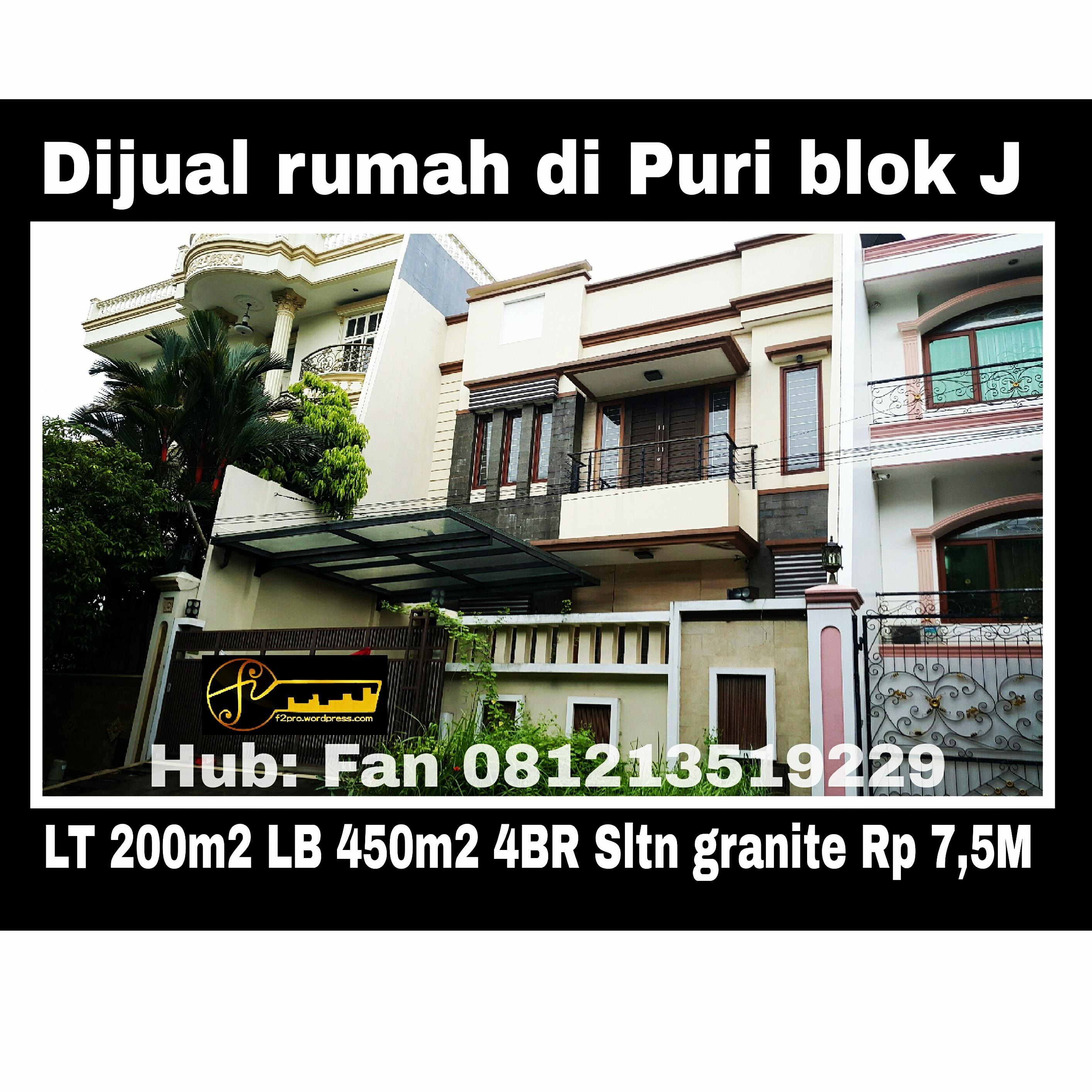Rumah dijual di Puri blok J14.jpg